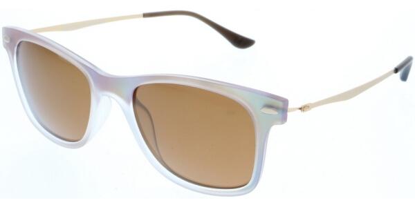 Sluneční brýle HIS model 88115, barva obruby béžová mat žlutá, čočka hnědá polarizovaná, kód barevné varianty 2.