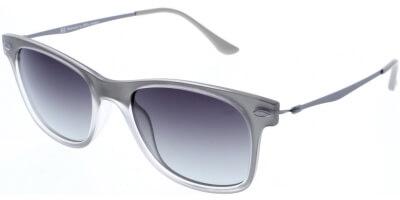 Sluneční brýle HIS model 88115, barva obruby šedá mat, čočka fialová gradál polarizovaná, kód barevné varianty 4.