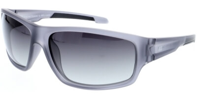 Sluneční brýle HIS model 97103, barva obruby šedá mat, čočka hnědá gradál polarizovaná, kód barevné varianty 4.