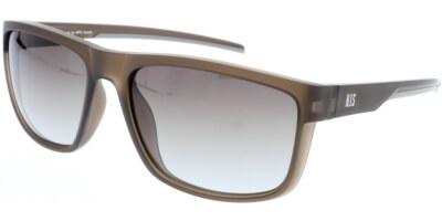 Sluneční brýle HIS model 97107, barva obruby hnědá mat, čočka hnědá gradál polarizovaná, kód barevné varianty 3.