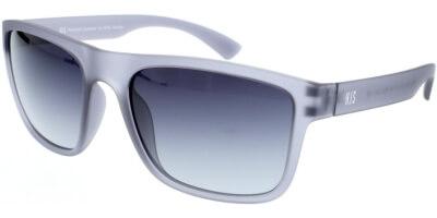 Sluneční brýle HIS model 97108, barva obruby šedá mat, čočka šedá gradál polarizovaná, kód barevné varianty 3.