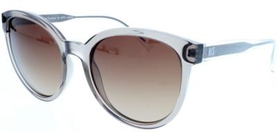 Sluneční brýle HIS model 98104, barva obruby hnědá lesk čirá, čočka hnědá gradál polarizovaná, kód barevné varianty 2.