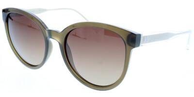 Sluneční brýle HIS model 98104, barva obruby hnědá lesk čirá, čočka hnědá gradál polarizovaná, kód barevné varianty 3.