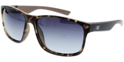 Sluneční brýle HIS model 98112, barva obruby hnědá mat, čočka modrá gradál polarizovaná, kód barevné varianty 3.