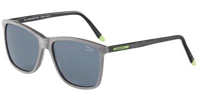Sluneční brýle Jaguar model 37168, barva obruby šedá mat černá, čočka šedá polarizovaná, kód barevné varianty 4573.