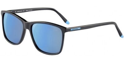 Sluneční brýle Jaguar model 37168, barva obruby černá mat, čočka modrá zrcadlo polarizovaná, kód barevné varianty 8840.