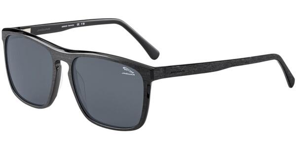 Sluneční brýle Jaguar model 37175, barva obruby černá mat, čočka šedá polarizovaná, kód barevné varianty 8841.