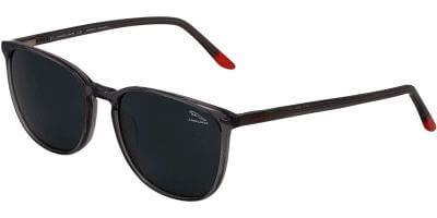 Sluneční brýle Jaguar model 37252, barva obruby šedá lesk, čočka šedá polarizovaná, kód barevné varianty 4627.