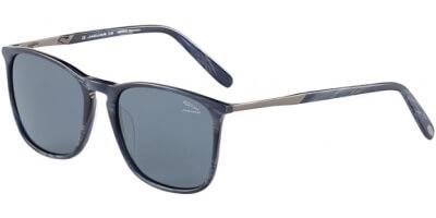 Sluneční brýle Jaguar model 37274, barva obruby modrá mat černá, čočka šedá polarizovaná, kód barevné varianty 6808.