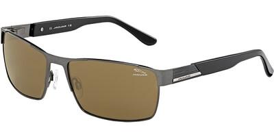 Sluneční brýle Jaguar model 37335, barva obruby šedá mat černá, čočka hnědá, kód barevné varianty 821.