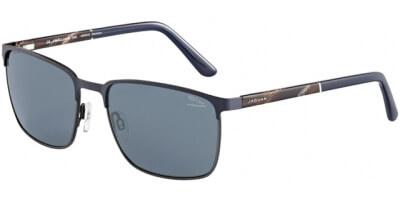 Sluneční brýle Jaguar model 37355, barva obruby modrá mat šedá, čočka šedá polarizovaná, kód barevné varianty 3100.