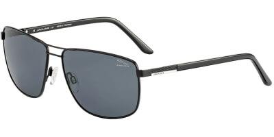 Sluneční brýle Jaguar model 37357, barva obruby černá mat, čočka šedá, kód barevné varianty 6100.