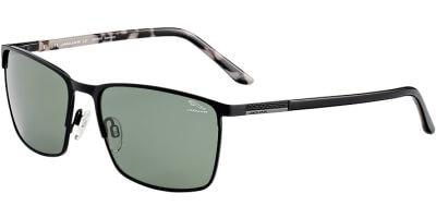 Sluneční brýle Jaguar model 37359, barva obruby černá mat, čočka zelená polarizovaná, kód barevné varianty 6100.