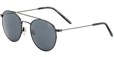Sluneční brýle Jaguar model 37455, barva obruby černá lesk, čočka šedá, kód barevné varianty 4200.
