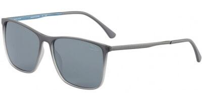 Sluneční brýle Jaguar model 37612, barva obruby šedá mat, čočka šedá polarizovaná, kód barevné varianty 6500.
