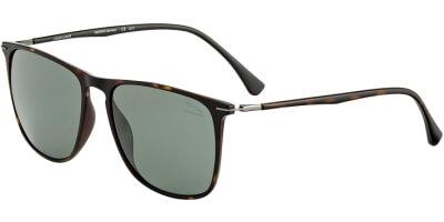 Sluneční brýle Jaguar model 37615, barva obruby hnědá mat, čočka šedá polarizovaná, kód barevné varianty 5100.