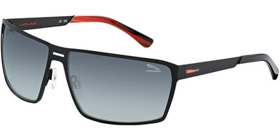 Sluneční brýle Jaguar model 37801, barva obruby černá mat, čočka fialová gradál, kód barevné varianty 610.