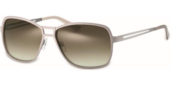 Sluneční brýle MEXX model 6262, barva obruby béžová mat, čočka hnědá zrcadlo, kód barevné varianty 300.