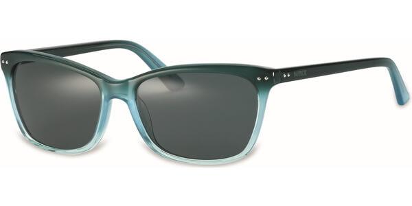 Sluneční brýle MEXX model 6266, barva obruby zelená lesk, čočka šedá, kód barevné varianty 300.