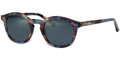 Sluneční brýle MEXX model 6316, barva obruby hnědá lesk fialová, čočka šedá, kód barevné varianty 300.