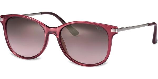 Sluneční brýle MEXX model 6337, barva obruby růžová lesk stříbrná, čočka hnědá gradál, kód barevné varianty 100.