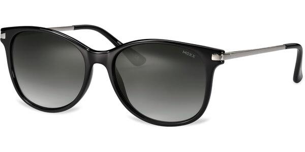 Sluneční brýle MEXX model 6337, barva obruby černá lesk stříbrná, čočka šedá gradál, kód barevné varianty 300.