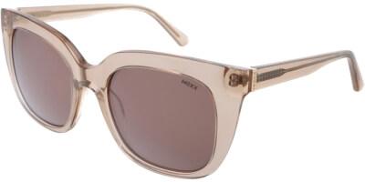 Sluneční brýle MEXX model 6349, barva obruby béžová lesk čirá, čočka hnědá, kód barevné varianty 400.