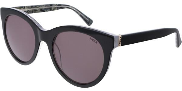 Sluneční brýle MEXX model 6384, barva obruby černá lesk, čočka hnědá, kód barevné varianty 100.