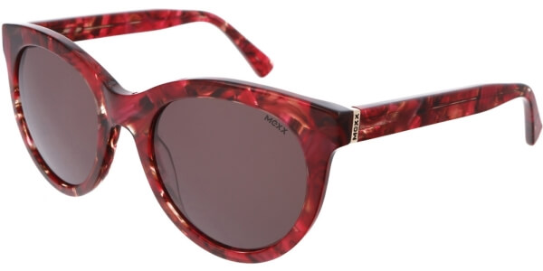 Sluneční brýle MEXX model 6384, barva obruby červená lesk, čočka hnědá, kód barevné varianty 200.