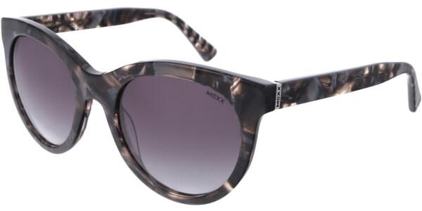 Sluneční brýle MEXX model 6384, barva obruby šedá lesk černá, čočka hnědá gradál, kód barevné varianty 300.