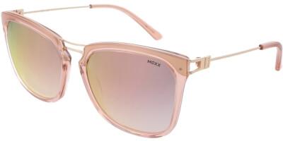 Sluneční brýle MEXX model 6385, barva obruby růžová lesk zlatá, čočka zlatá zrcadlo gradál, kód barevné varianty 300.