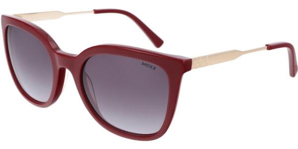 Sluneční brýle MEXX model 6386, barva obruby červená lesk zlatá, čočka šedá gradál, kód barevné varianty 300.
