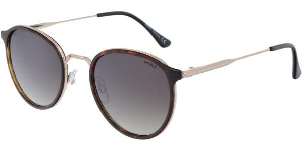 Sluneční brýle MEXX model Luxottica, barva obruby hnědá lesk zlatá, čočka hnědá gradál, kód barevné varianty 200.