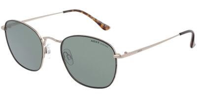 Sluneční brýle MEXX model 6447, barva obruby černá lesk zlatá, čočka šedá polarizovaná, kód barevné varianty 301.
