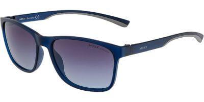 Sluneční brýle MEXX model 6490, barva obruby modrá mat, čočka modrá gradál polarizovaná, kód barevné varianty 101.