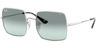 Sluneční brýle Ray-Ban® model 1971, barva obruby stříbrná lesk, čočka modrá gradál, kód barevné varianty 9149AD.