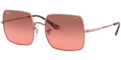 Sluneční brýle Ray-Ban® model 1971, barva obruby hnědá lesk červená, čočka červená gradál, kód barevné varianty 9151AA.
