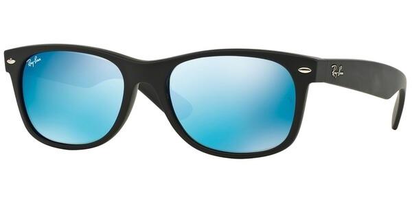 Sluneční brýle Ray-Ban® model 2132, barva obruby černá mat, čočka modrá zrcadlo, kód barevné varianty 62217.