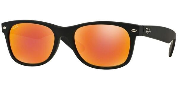 Sluneční brýle Ray-Ban® model 2132, barva obruby černá mat, čočka červená zrcadlo, kód barevné varianty 62269.