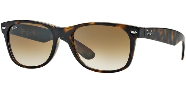 Sluneční brýle Ray-Ban® model 2132, barva obruby hnědá lesk, čočka hnědá gradál, kód barevné varianty 71051.