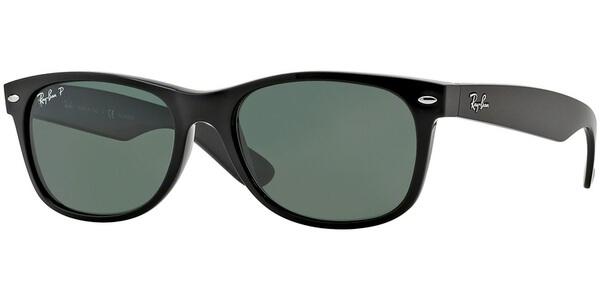 Sluneční brýle Ray-Ban® model 2132, barva obruby černá lesk, čočka zelená polarizovaná, kód barevné varianty 90158.