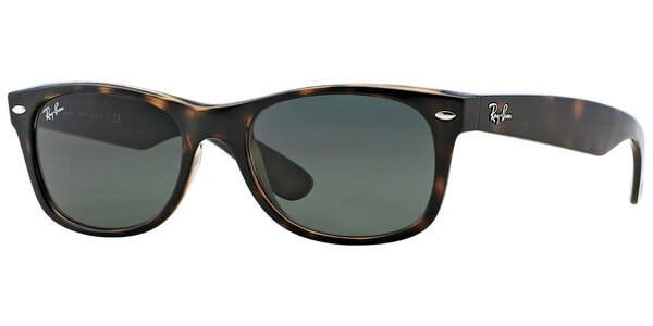 Sluneční brýle Ray-Ban® model 2132, barva obruby hnědá lesk, čočka zelená, kód barevné varianty 902.