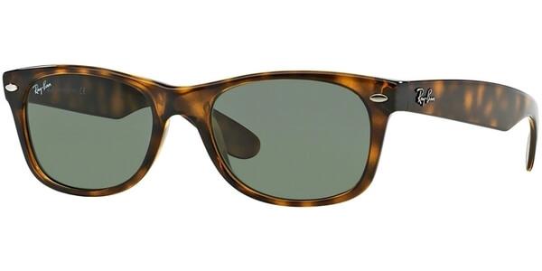 Sluneční brýle Ray-Ban® model 2132, barva obruby hnědá mat, čočka zelená, kód barevné varianty 902L.