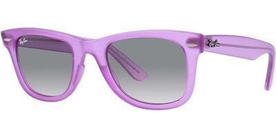 Sluneční brýle Ray-Ban® model 2140, barva obruby fialová mat, čočka šedá gradál, kód barevné varianty 605632.