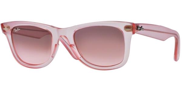 Sluneční brýle Ray-Ban® model 2140, barva obruby růžová, čočka šedá, kód barevné varianty 6057X3.