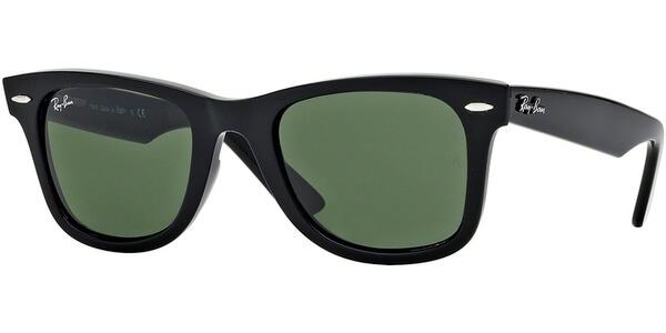 Sluneční brýle Ray-Ban® model 2140, barva obruby černá lesk, čočka zelená, kód barevné varianty 901.