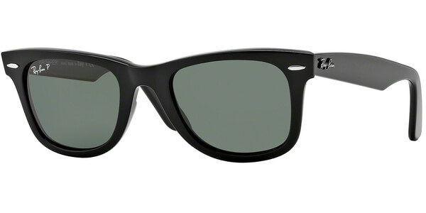 Sluneční brýle Ray-Ban® model 2140, barva obruby černá lesk, čočka zelená polarizovaná, kód barevné varianty 90158.