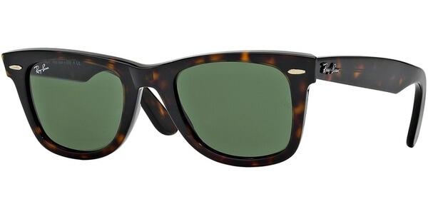 Sluneční brýle Ray-Ban® model 2140, barva obruby hnědá lesk, čočka zelená, kód barevné varianty 902.