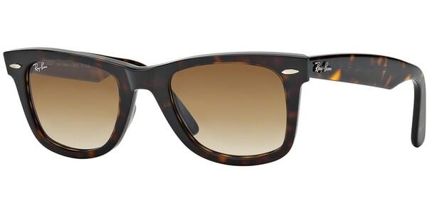 Sluneční brýle Ray-Ban® model 2140, barva obruby hnědá lesk, čočka hnědá gradál, kód barevné varianty 90251.