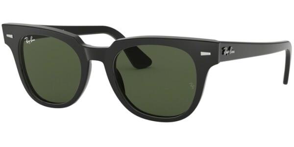 Sluneční brýle Ray-Ban® model 2168, barva obruby černá lesk, čočka zelená, kód barevné varianty 90131.